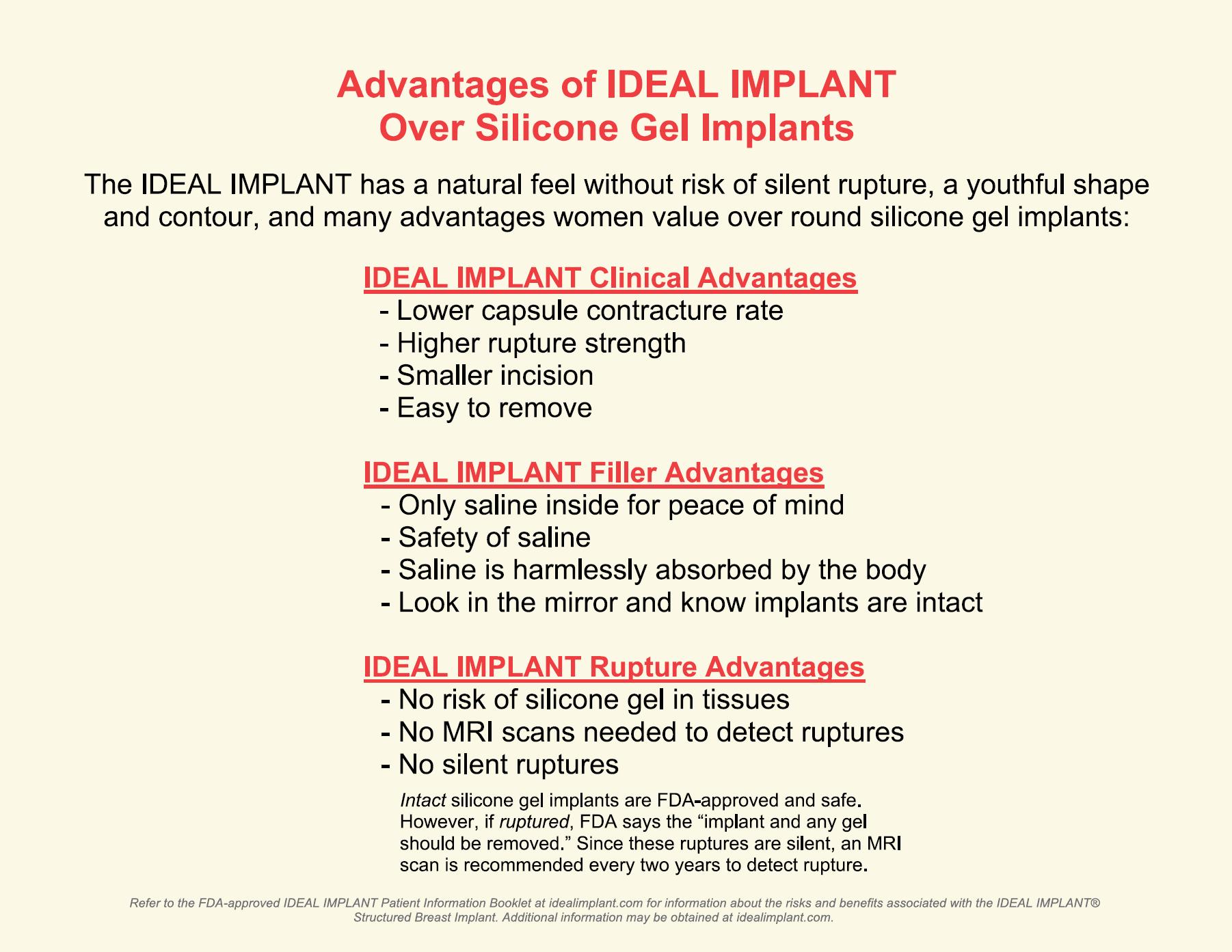 ideal implant advantages
